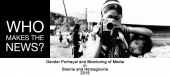 Gender Portrayal and Monitoring of Media in Bosnia and Herzegovina 2015